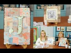 Transferencia de imagenes sobre madera - Pintura Decorativa - Florencia Cervini - YouTube