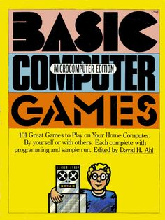 #Basic Computer Games Book Cover