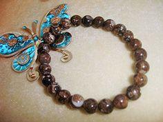 Turritella Agate Yoga Prayer Bracelet Reiki Crystal Healing Chakra Balance
