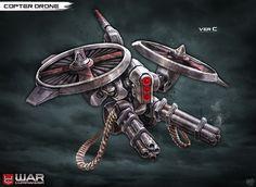 Copter Drone by DNA-1.deviantart.com on @deviantART