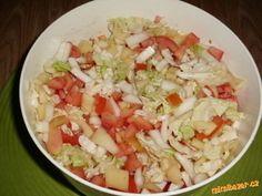Bezva salát z čínského zelí -děkuji Hanka76 Cucumber Salad, Potato Salad, Salsa, Delish, Cabbage, Rice, Favorite Recipes, Vegetables, Ethnic Recipes
