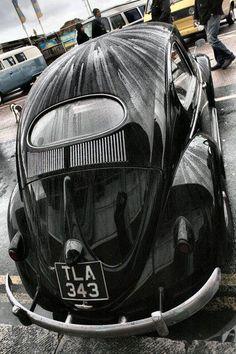 Black Beetle Car, Vw Cars, Vw Beetles, Volkswagen, Vans, Vehicles, Black, Beetle, Vw Bugs