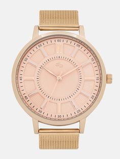 05448910e3cf Buy DressBerry Rose Gold Textured Analogue Watch MFB-PN-WTH-S5839-2 online
