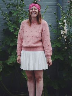 Mum's popcorn sweater