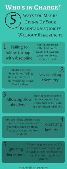 Parenting tips, quotes and memes Who's in Charge? 5 way you may be compromising your own authority as a parent. Infographic linked to full post. Parenting Teens, Gentle Parenting, Parenting Advice, Parenting Humor, Parenting Classes, Peaceful Parenting, Parenting Styles, Foster Parenting, Christian Parenting