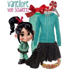 Vanellope- this is what I want to be for Halloween!