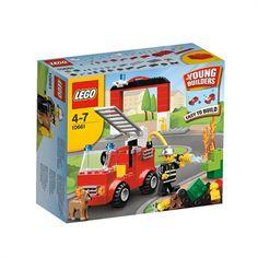LEGO Min første brandstation | køb nu på salling.dk