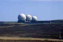 """golf balls"" radomes at RAF Fylingdales, England, 1986 Whitby England, Fast Times, North Yorkshire, Photo Book, Cold War, Places, Balls, Buildings, Golf"