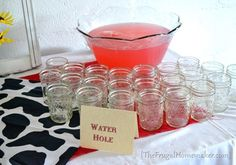 Western theme baby shower (gender neutral) - The Frugal Homemaker
