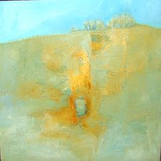IN THE HEAT OF SUMMER: OIL ON CANVAS 50X50CM Ruth McCabe