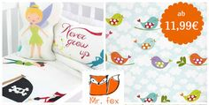 Quicktipp:Ab heutegibt es die bunte und beliebte Bettwäsche von Mr. Fox bei Limangobis zu 61% günstiger ggü. UVP. Mit dabei ist Bettwäsche mit märchenhaften Motiven von Schneewittchen, Cinderella oder Rotkäppchen. Auch Kissenbezüge im 2er Pack sowie ausgefallene Nestchen für das Baybett. #sparbaby