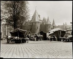Nieuwmarkt in September 1902, by Jacob Olie