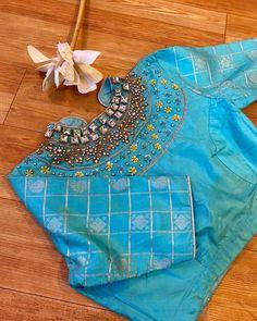 Pattu Saree Blouse Designs, Blouse Designs Silk, Designer Blouse Patterns, Bridal Blouse Designs, Stylish Blouse Design, Stylish Dress Designs, Kids Blouse Designs, Simple Blouse Designs, Mirror Work Blouse Design