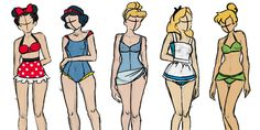 If the Disney Princesses went on spring break, this is what they'd wear
