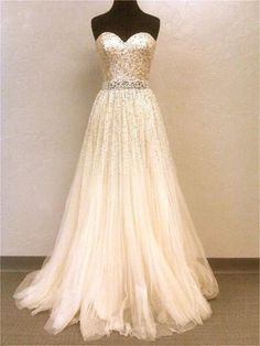 Not your average wedding gown but still beautiful!