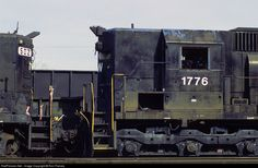 RailPictures.Net Photo: NW 1776 Norfolk & Western EMD SD45 at Radford, Virginia by Ron Flanary