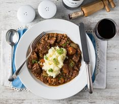 I'm a vegetarian. I plan to move on to full vegan next. After that, I will live only on pulses until my last pulse. Lamb Shoulder, Lamb Stew, Wild Game Recipes, Bacon Bits, Smoked Paprika, Venison, Gumbo, Tasty Dishes, Chana Masala
