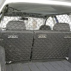 Universal 1m x 1m Pet Dog Car Safety Guard Barrier Protector Net