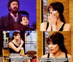 Lea Michele Commenting On Fetus Lea Performance ^__^