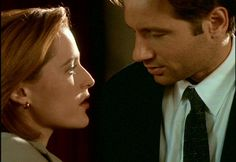 Dana Scully & Fox Mulder | The X-Files (1993 - 2002)    #gilliananderson #davidduchovny #couples