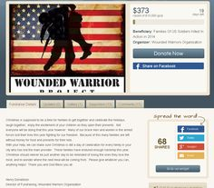 how to cancel wounded warrior donation