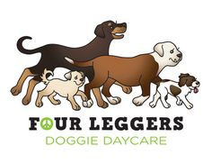 Four Leggers Doggie Daycare logo
