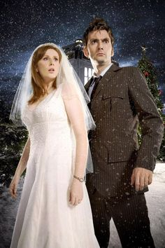 The Runaway Bride! One of my favorite episodes.....but I loved the Doctor and Donna together1