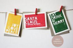 Fun christmas design