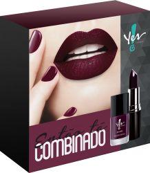 "Kit ""Então tá Combinado"" Dark Berry - Yes - Yes Cosmetics Alphaville"