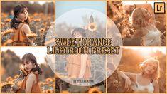 Sweet Orange Lightroom CC Preset by Jeje Creativa Screen Recorder, Lightroom Tutorial, Lightroom Presets, Stock Photos, Orange