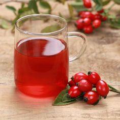 Vitamin C in Rosehip Tea Herbal Remedies, Health Remedies, Natural Remedies, Rose Hip Tea Benefits, Be Natural, Natural Health, Health Diet, Health And Wellness, Rosehip Recipes