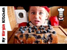 My Daughter Phoebe & I show you how to make a delicious lemon and blueberry drizzle cake