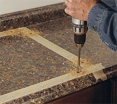 Cut a Laminate Countertop for a Sink - Fine Homebuilding How To Install Countertops, Laminate Countertops, Picture Design, Kitchen Layout, Backsplash, Building A House, Home Improvement, Home And Family, Home And Garden
