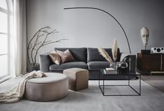 〚Soft and elegant Scandinavia in interiors by Jotex〛〛 Photos ◾Ideen◾ design - Interieur - Home Style - Living Room Colors, Home Living Room, Living Room Furniture, Living Room Decor, Interior Design Living Room Warm, Living Room Designs, Home Design, Home Interior Design, Design Design
