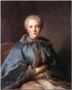 Comtesse de Tillières by Jean-Marc Nattier, 1750