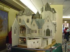 Hogwarts in miniature -- created by Sally Wallace and Rik Pierce.  This is seriously cool.