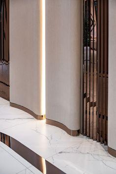- d e t a i l & m a t e r i a l s - FYNN Sale Office Architects Lobby Interior, Interior Architecture, Interior And Exterior, Modern Office Design, Office Interior Design, Modern Offices, Office Designs, Hotel Interiors, Office Interiors