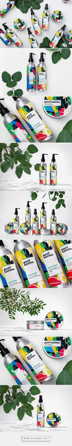 Pari Satiss / natural and exclusive cosmetics line / design by Fabula Branding