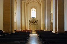 The Our Lady of the Immaculate Conception Cathedral (Sé Catedral de Nossa Senhora da Conceição) in the town of Leiria, Portugal