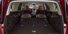 2015 Suburban and TahoeFold-flat second- and third-row seats that enhance cargo convenience – including an available power-folding feature