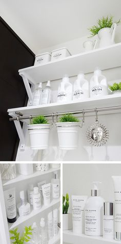 bathroom Laundry Room Organization, Organization Hacks, Laundry In Bathroom, Bathroom Storage, Küchen Design, House Design, Tokyo Apartment, Tidy Up, Shabby