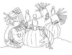 "iColor ""Scarecrows"""