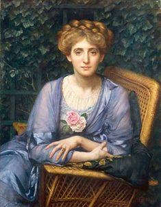 The Athenaeum - Portrait Of Lady Markham (Sir Edward John Poynter - )