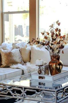 If you are looking for home goods living room decor you've come to the right place. We have 34 images about home goods living room decor i. Fall Living Room, Home And Living, Living Room Decor, Coffee Table Decor Living Room, Fall Home Decor, Autumn Home, Fall Winter, Living Room Inspiration, Home Decor Inspiration