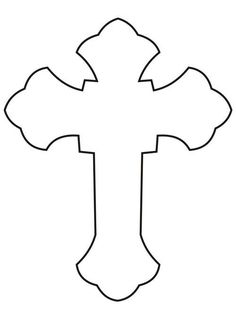 Professor Artist of Drawing an a Cross Wooden Crosses, Crosses Decor, Scroll Saw Patterns, Cross Patterns, Stained Glass Patterns, Mosaic Patterns, Outline Images, Première Communion, Cross Art