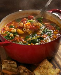 Ina Garten's minestrone soup. Photo by Donna Turner Ruhlman