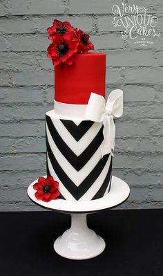 Very unique cakes by Veronique