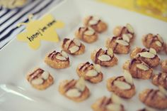 Mommy to Bee baby shower bee treats