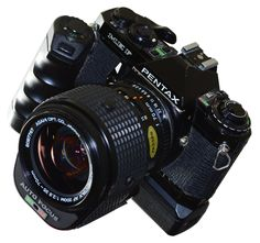 Pentax ME-F - the first auto-focus SLR ever with the dedicated 35-70 AF zoom lens