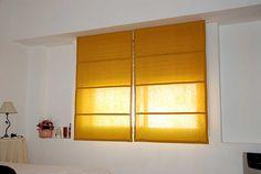Como hacer cortinas romanas.